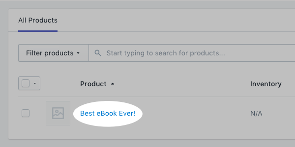 select product to tag
