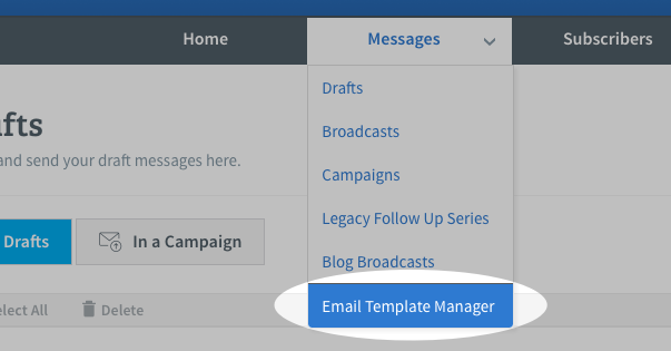 What is the difference between a theme and a template aweber select email template manager from the messages tab toneelgroepblik Images
