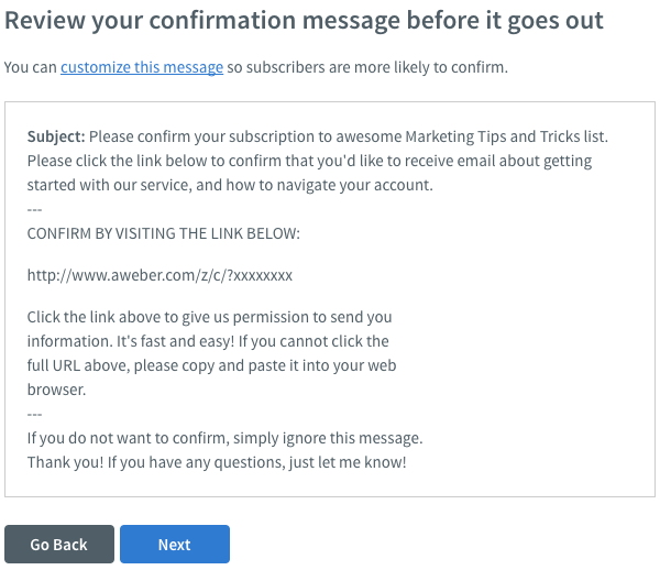 How do I import subscribers with confirmation? – AWeber