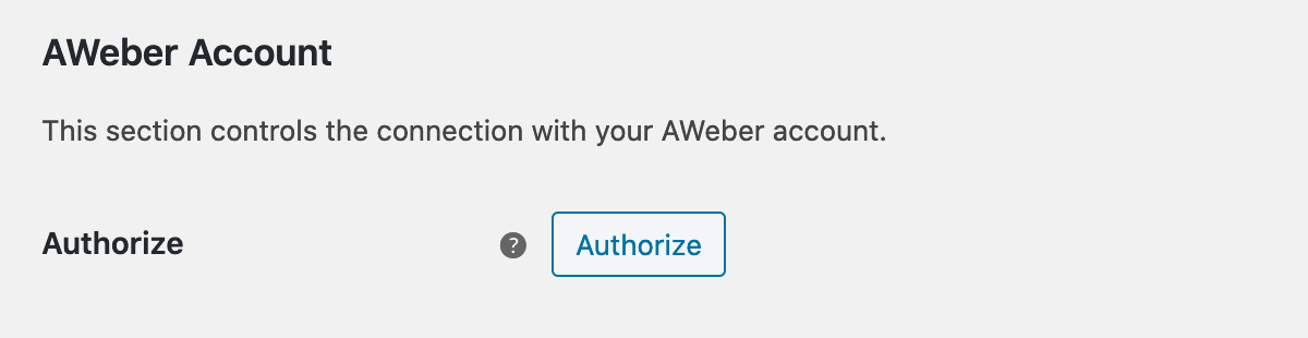 Click Authorize button