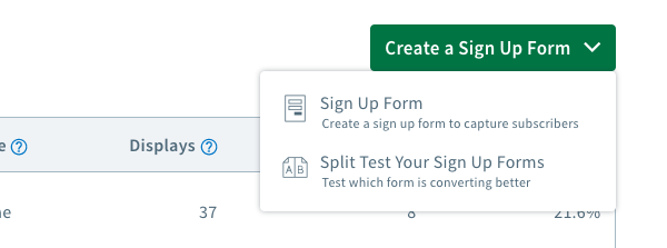 Create a form button