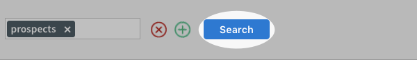 blue search button
