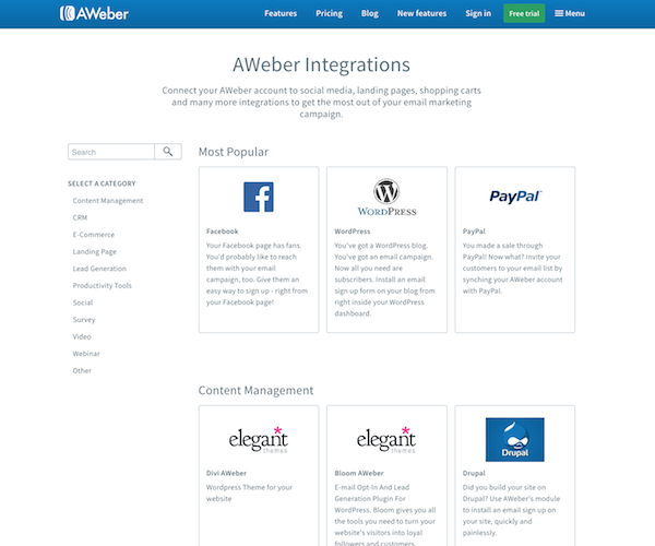 public integrations showcase