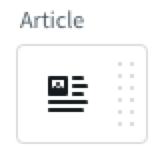 Article block