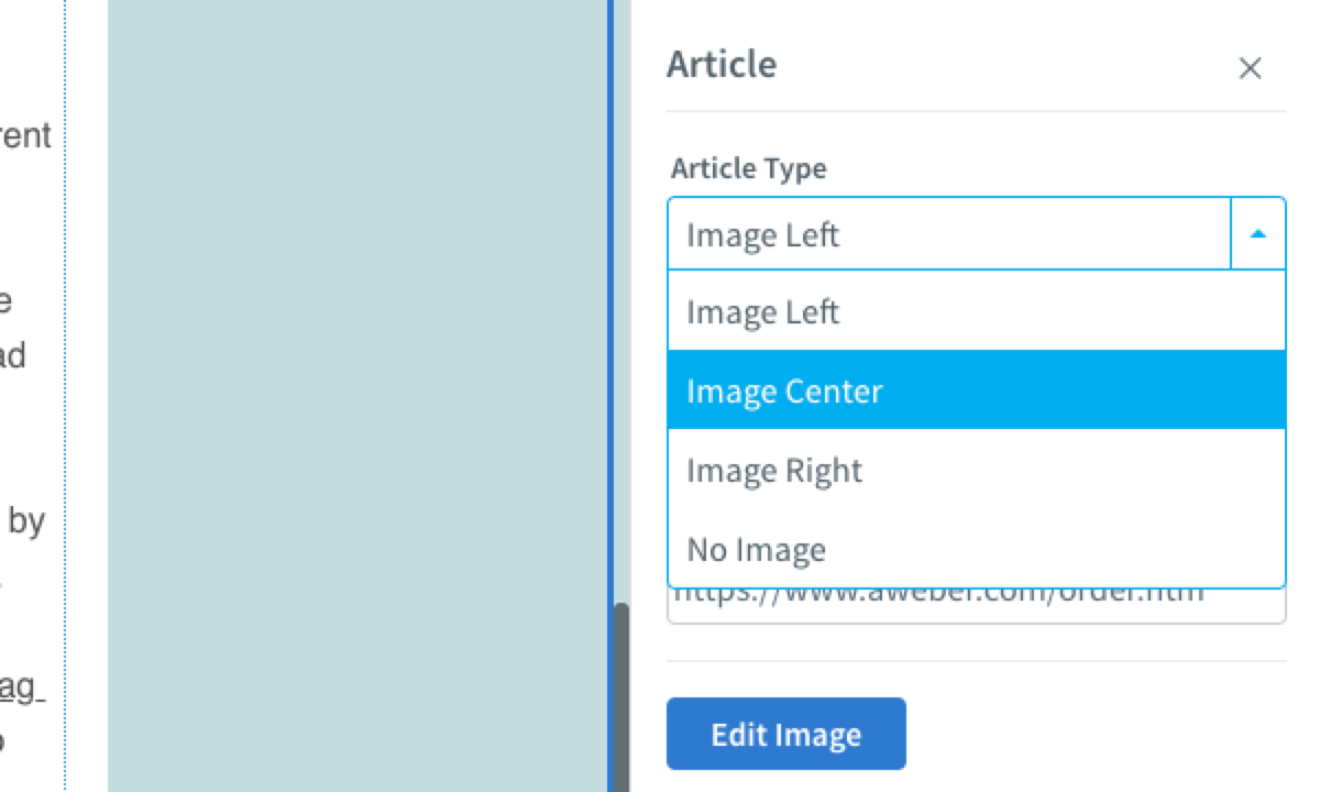 Select Article Type