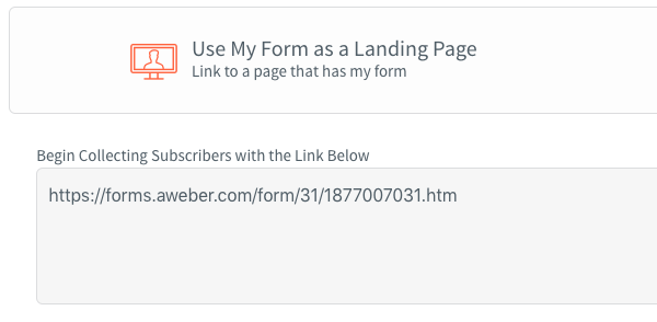 How do I publish my form through an iFrame? – AWeber Knowledge Base