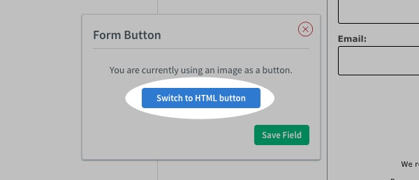 Click Swithc to HTML button