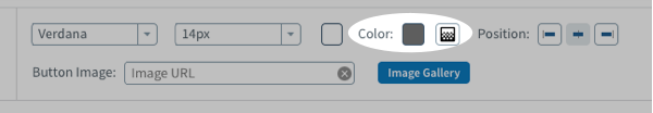 Edit the button color from the next set of options