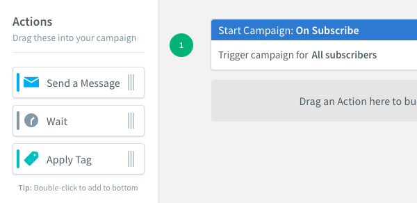 Campaign actions