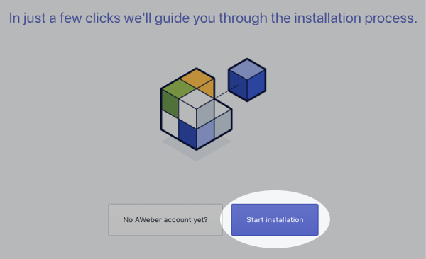Click Start Installation