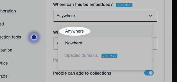 Select anywhere