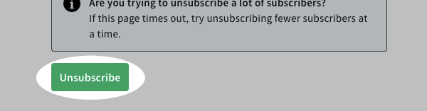 Click Unsubscribe