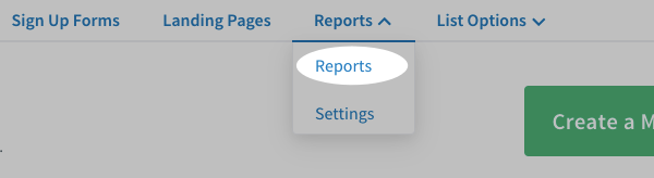 Click the Reports tab