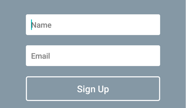 Subscriber form example