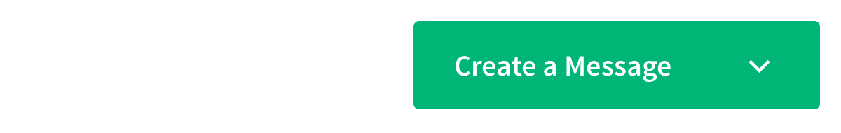 greeen Create a Message button