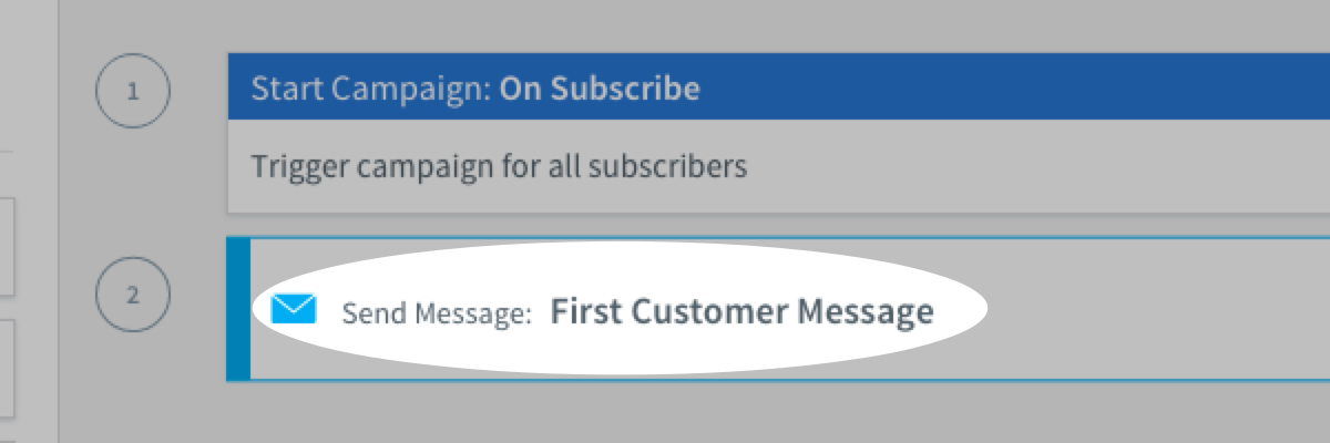 Selecting a message