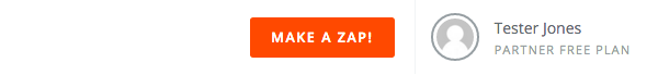 Zapier zap options