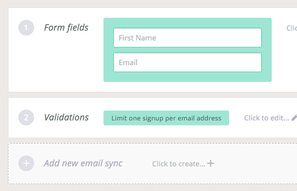 Edit Form Fields and Validations